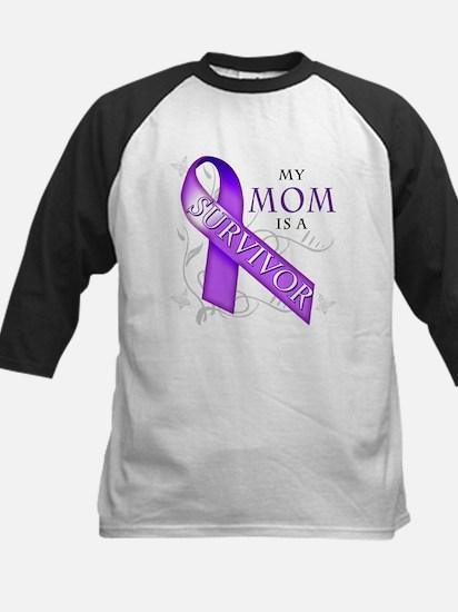 My Mom is a Survivor (purple).png Kids Baseball Je
