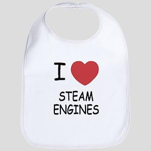 I heart Steam Engines Bib