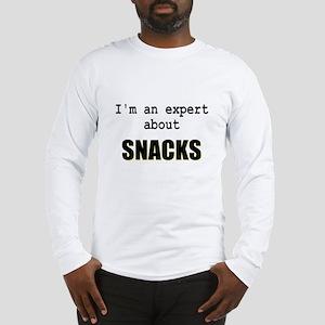 Im an expert about SNACKS Long Sleeve T-Shirt