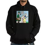 Polo Cartoon Hoodie (dark)