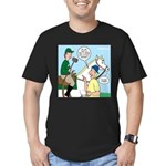 Polo Cartoon Men's Fitted T-Shirt (dark)