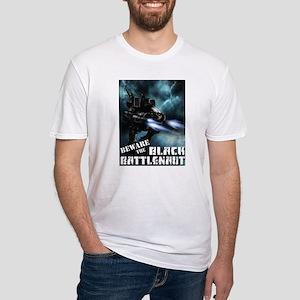 Black Battlenaut Fitted T-Shirt