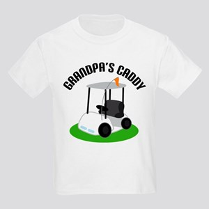Grandpa's Caddy Kids Light T-Shirt