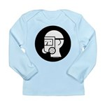 Gas Mask w/Eye Shield Long Sleeve Infant T-Shirt