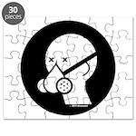 Respirator Mask Icon Puzzle
