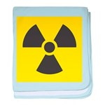 Radiation Symbol (Y) baby blanket