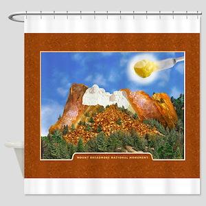 Mount Breadmore Shower Curtain