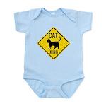 Cat Crossing Sign Infant Bodysuit