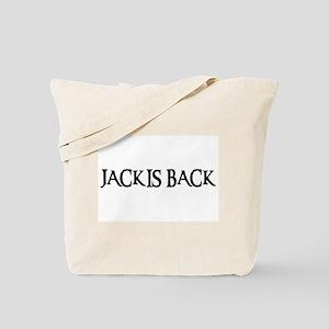 JACK IS BACK Tote Bag