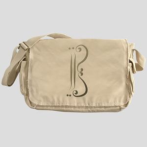 Elegant Alto Clef Messenger Bag