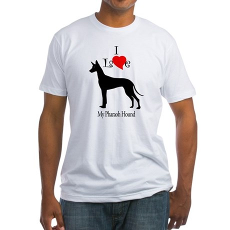 Pharaoh Hound Fitted T-Shirt
