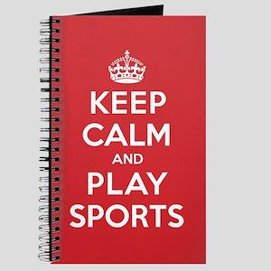 Keep Calm Play Sports Journal