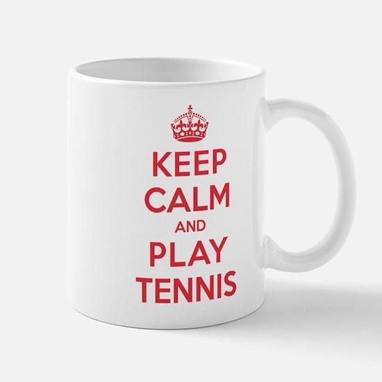 Keep Calm Play Tennis Mug