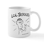 LOL Trekkies! Mug