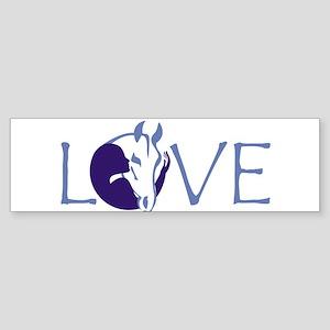 Love horse Bumper Sticker