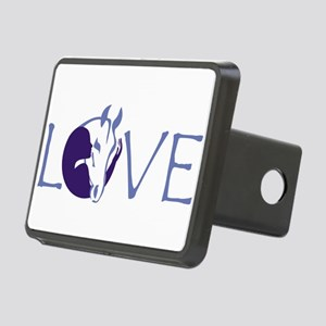 Love horse Rectangular Hitch Cover