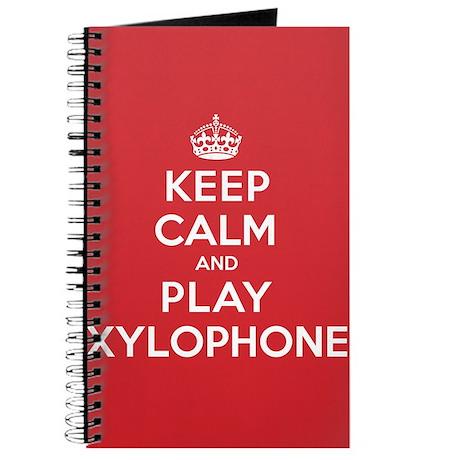 Keep Calm Play Xylophone Journal