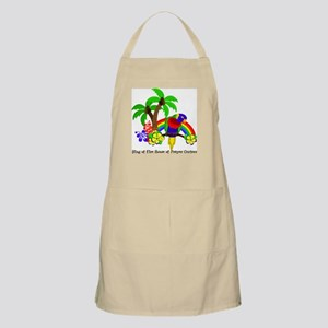 Ring of Fire Parrot Apron