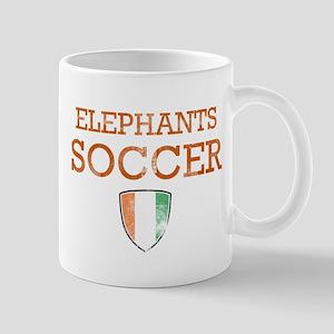 Cote D Ivoire Soccer Mug