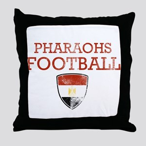Egypt Football Throw Pillow