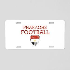 Egypt Football Aluminum License Plate