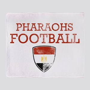 Egypt Football Throw Blanket