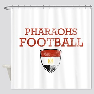 Egypt Football Shower Curtain