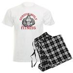 Serious Wolf Fitness Men's Light Pajamas