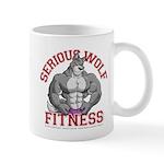 Serious Wolf Fitness Mug