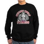 Serious Wolf Fitness Sweatshirt (dark)