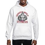 Serious Wolf Fitness Hooded Sweatshirt