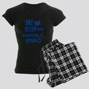 Eat Sleep Gymnastics Women's Dark Pajamas
