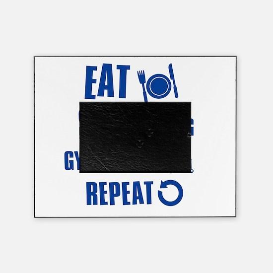 Eat Sleep Gymnastics Picture Frame