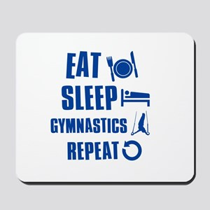 Eat Sleep Gymnastics Mousepad
