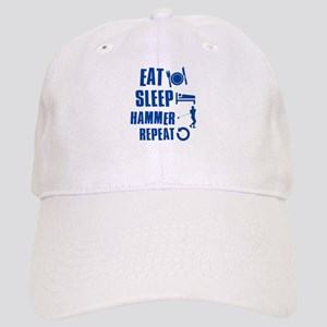 Eat Sleep Hammer Cap