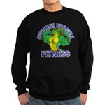 Serious Green Dragon Sweatshirt (dark)