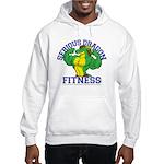 Serious Green Dragon Hooded Sweatshirt