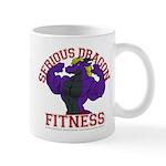 Serious Purple Dragon Mug