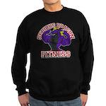 Serious Purple Dragon Sweatshirt (dark)
