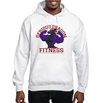 Serious Purple Dragon Hooded Sweatshirt