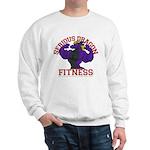 Serious Purple Dragon Sweatshirt