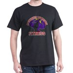 Serious Purple Dragon Dark T-Shirt