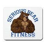 Serious Bear Mousepad