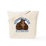 Serious Bear Tote Bag