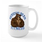 Serious Bear Large Mug