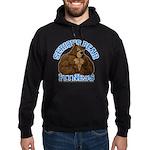 Serious Bear Hoodie (dark)