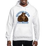 Serious Bear Hooded Sweatshirt