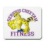 Serious Cheetah Mousepad