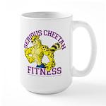 Serious Cheetah Large Mug
