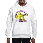 Serious Cheetah Hooded Sweatshirt